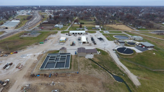 Brookfield Wastewater Treatment Facility – under construction