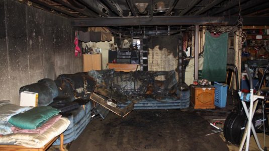 House Fire-Electrical Caused Fire